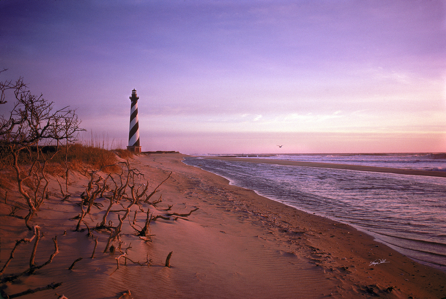 Dawn at the Hatteras Light