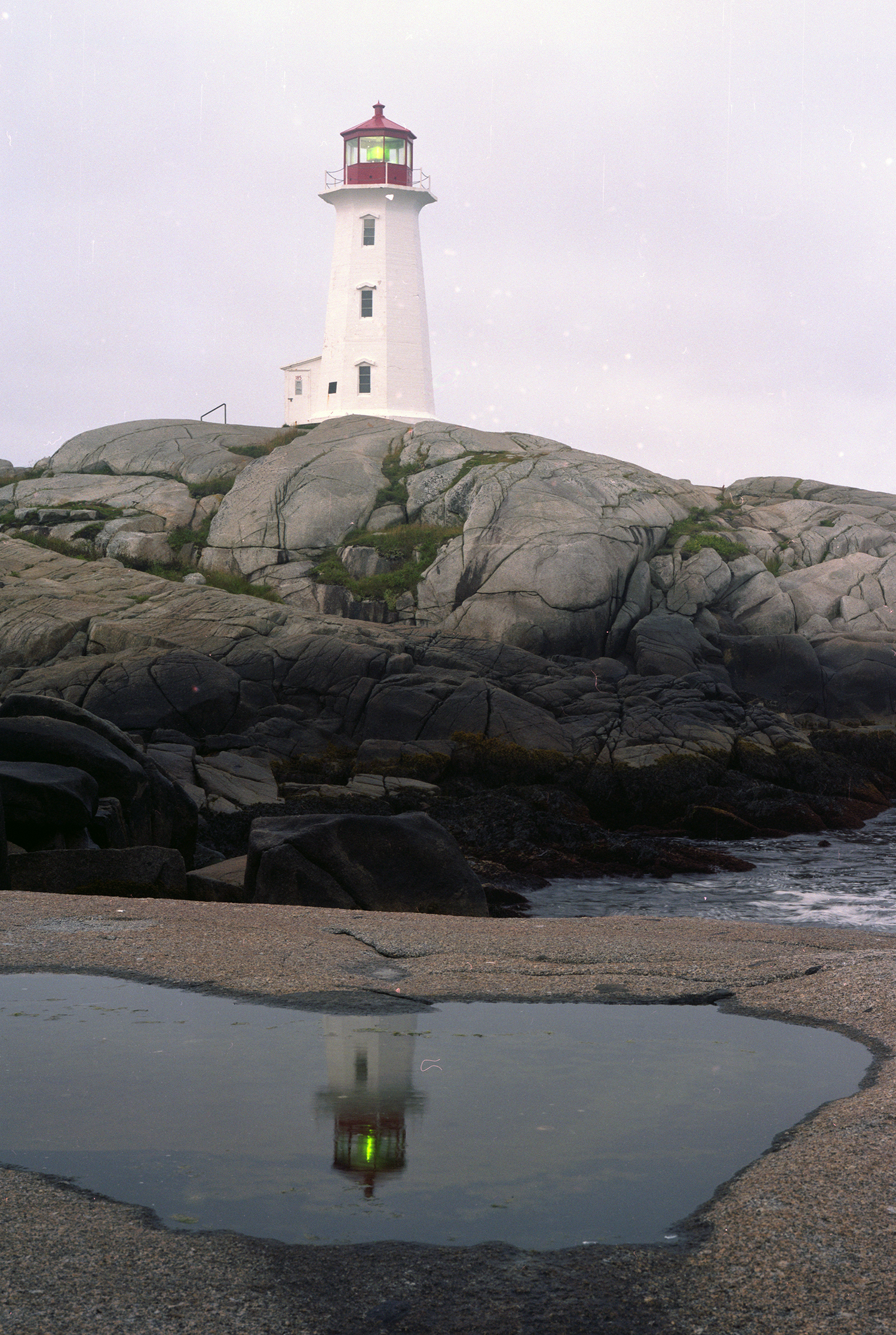 The Light at Peggy's Cove