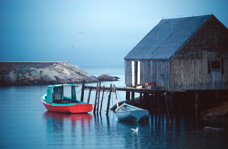 Dawn in Peggy's Cove