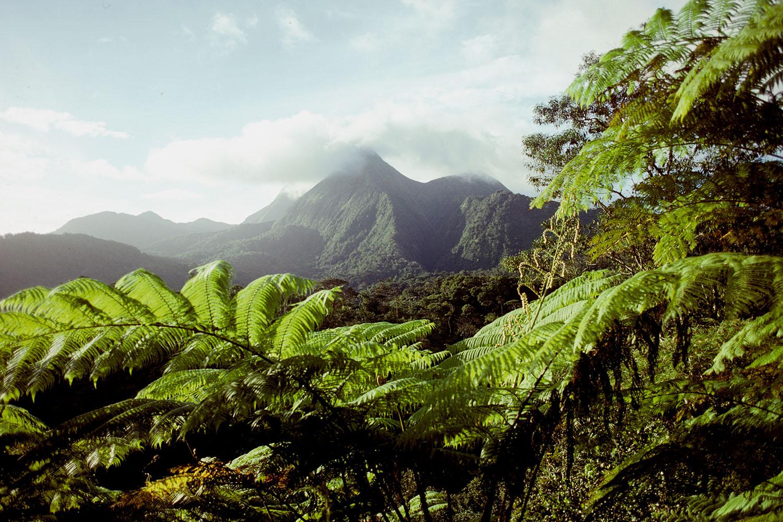 Mt. Pele on Martinique