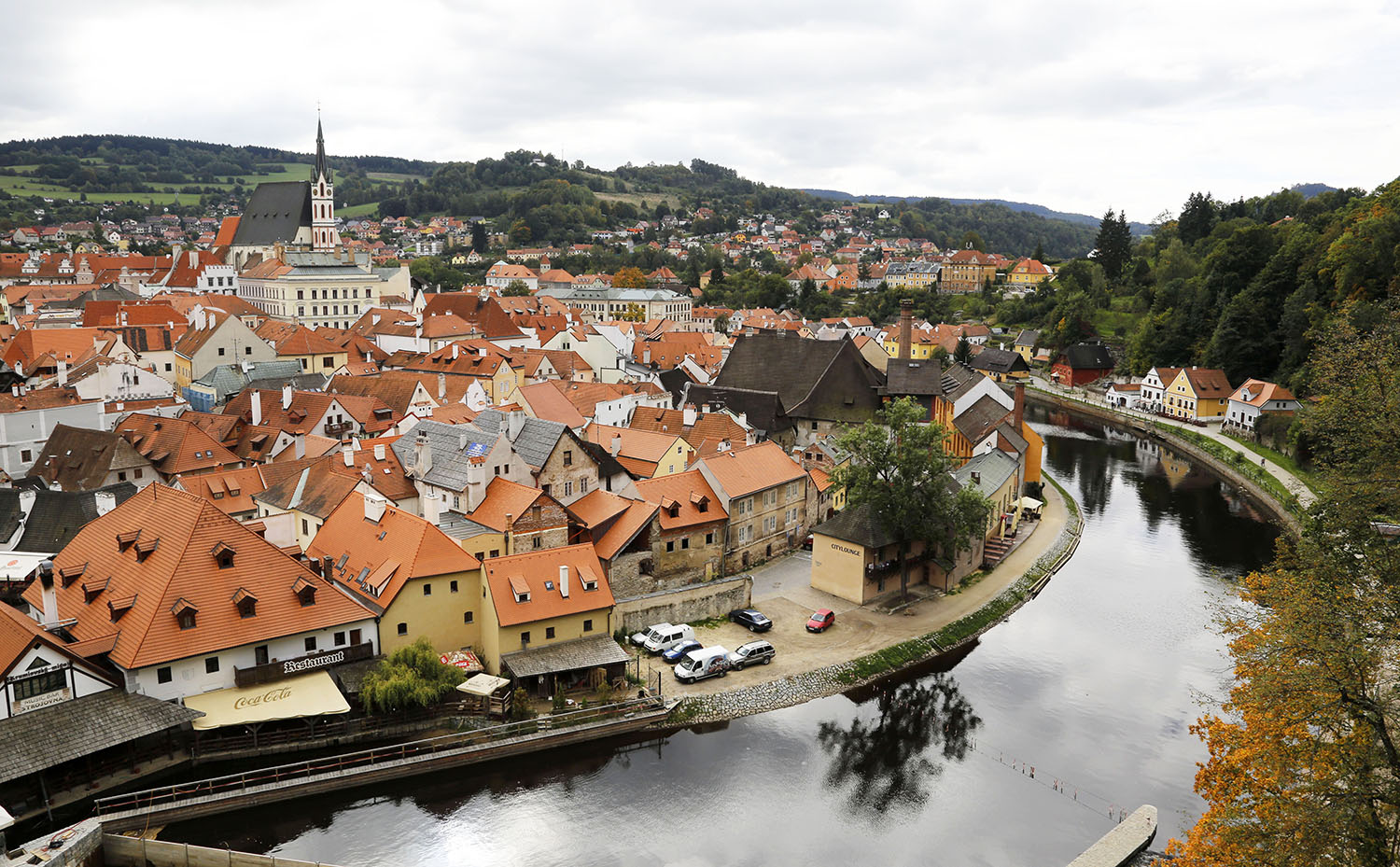 Reflections in the Vltava
