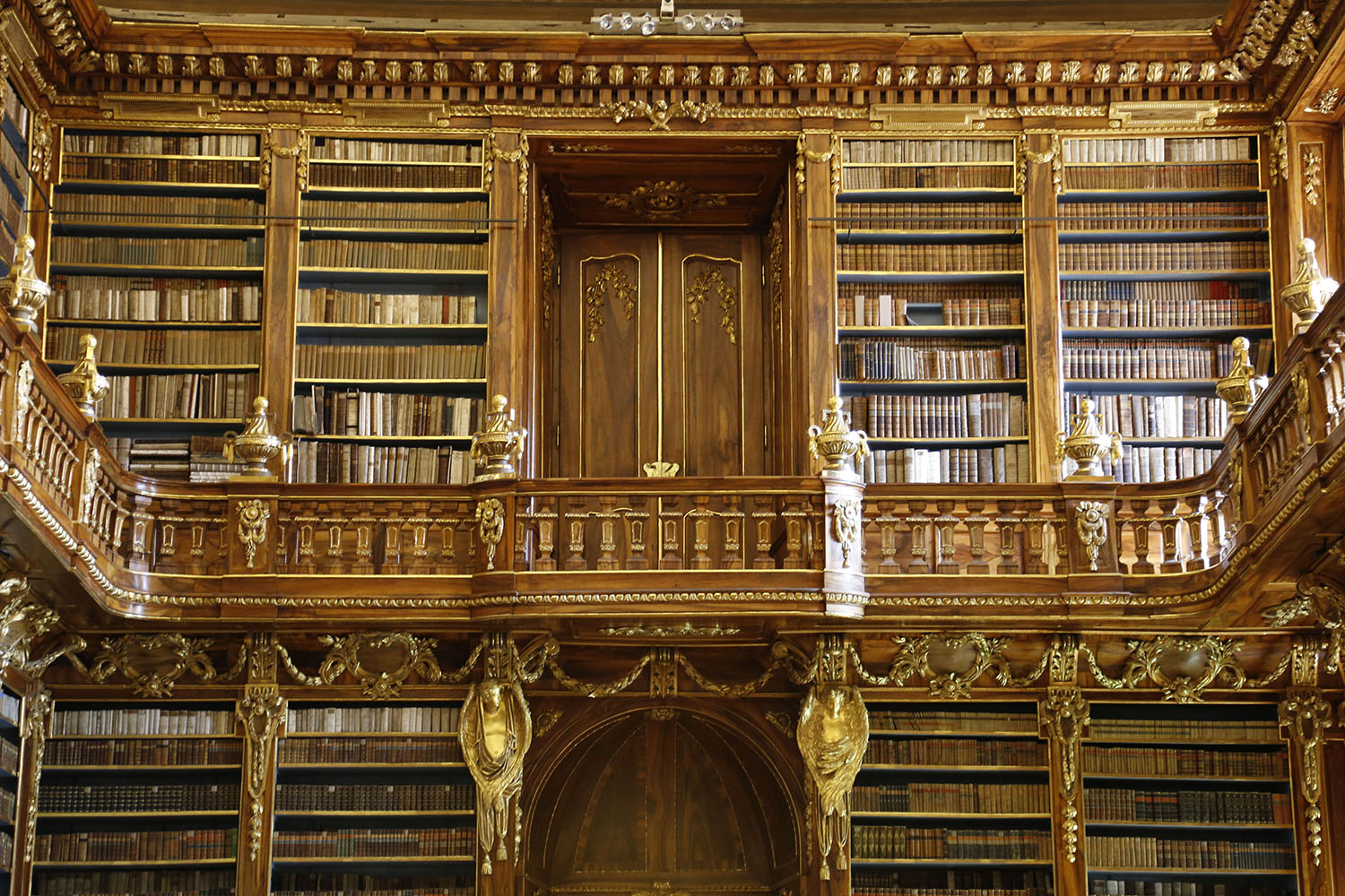 The Monastery Library