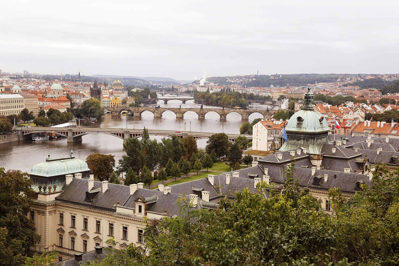Bridges over the Vltava