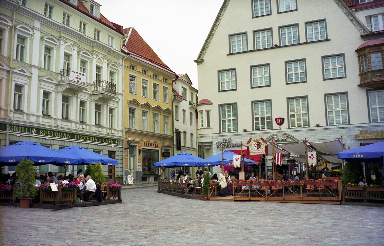 The Main Square in Tallinn