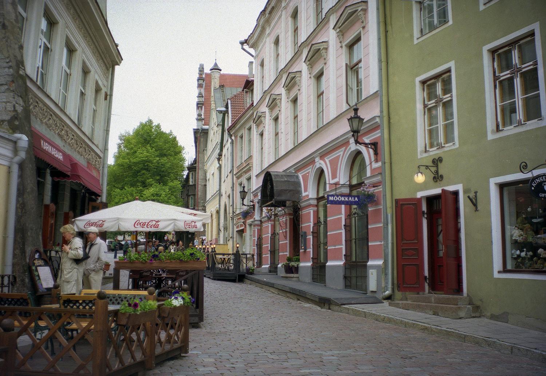 A Street in Tallinn