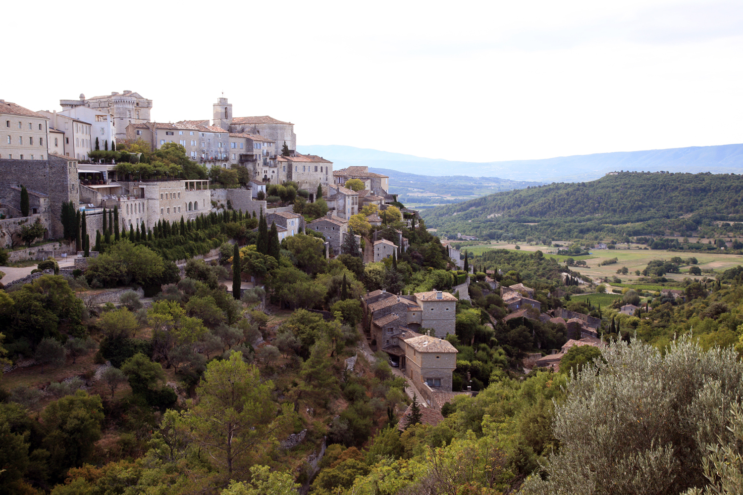 The Hill Town of Gordes
