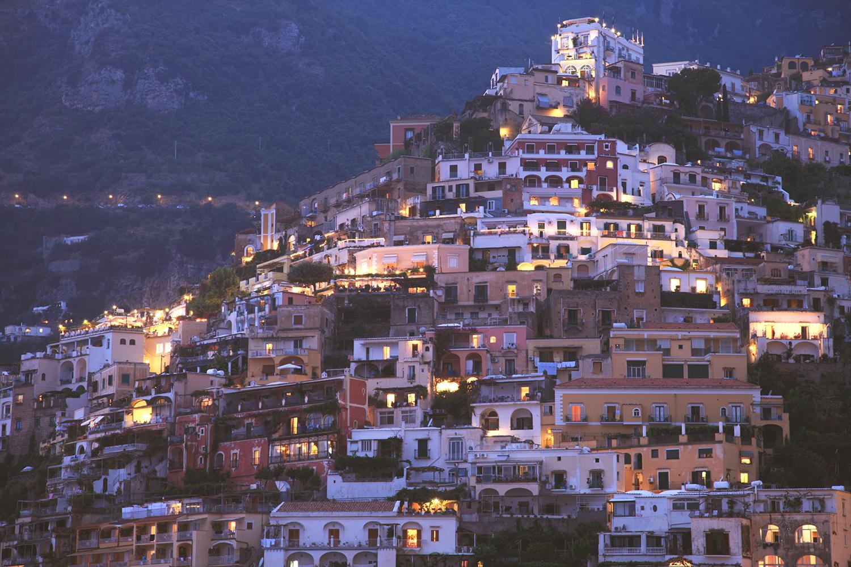Evening in Positano