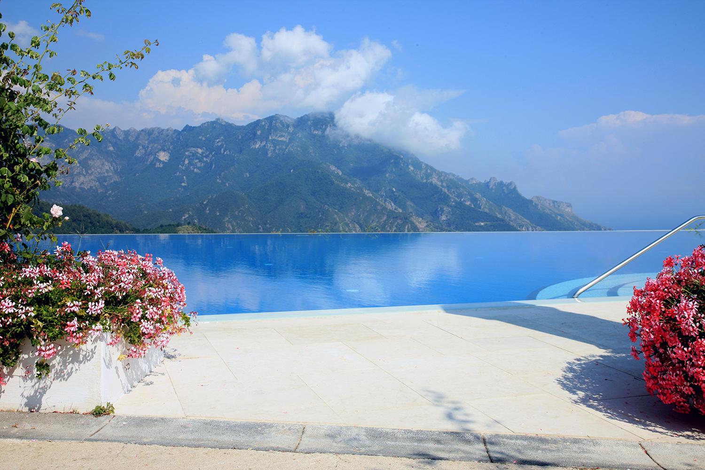 The Pool at Villa Caruso