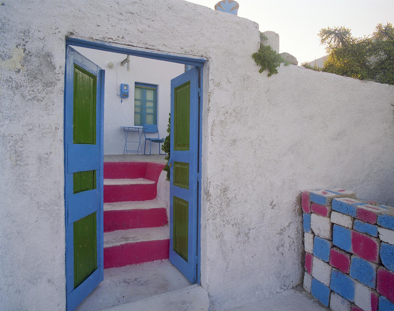 A B&B in Santorini