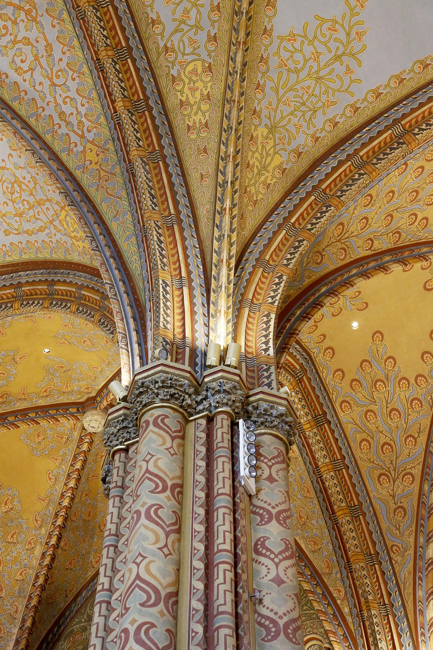 Inside St. Mathias
