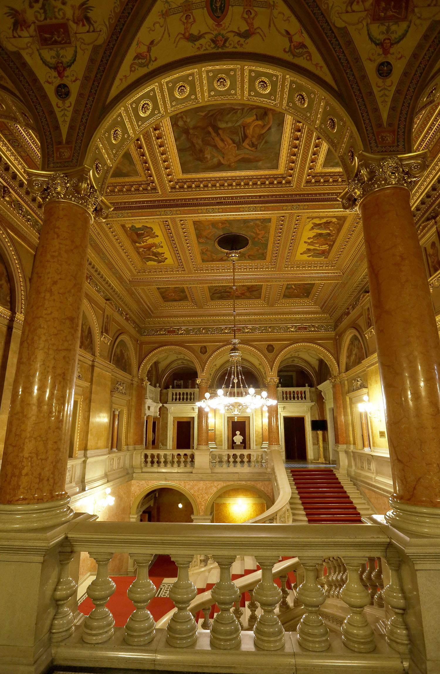 The Foyer of the Opera House