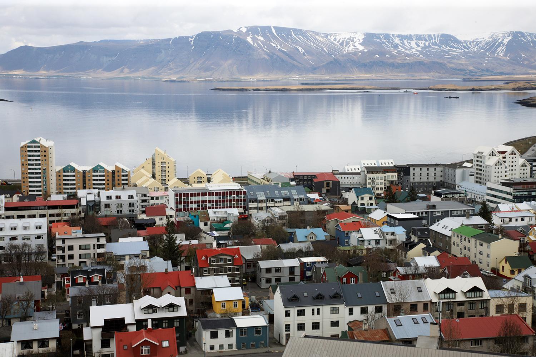 Rooftops of Reykavik