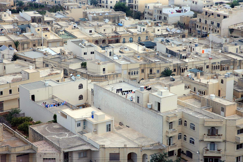 Rooftops of Valletta