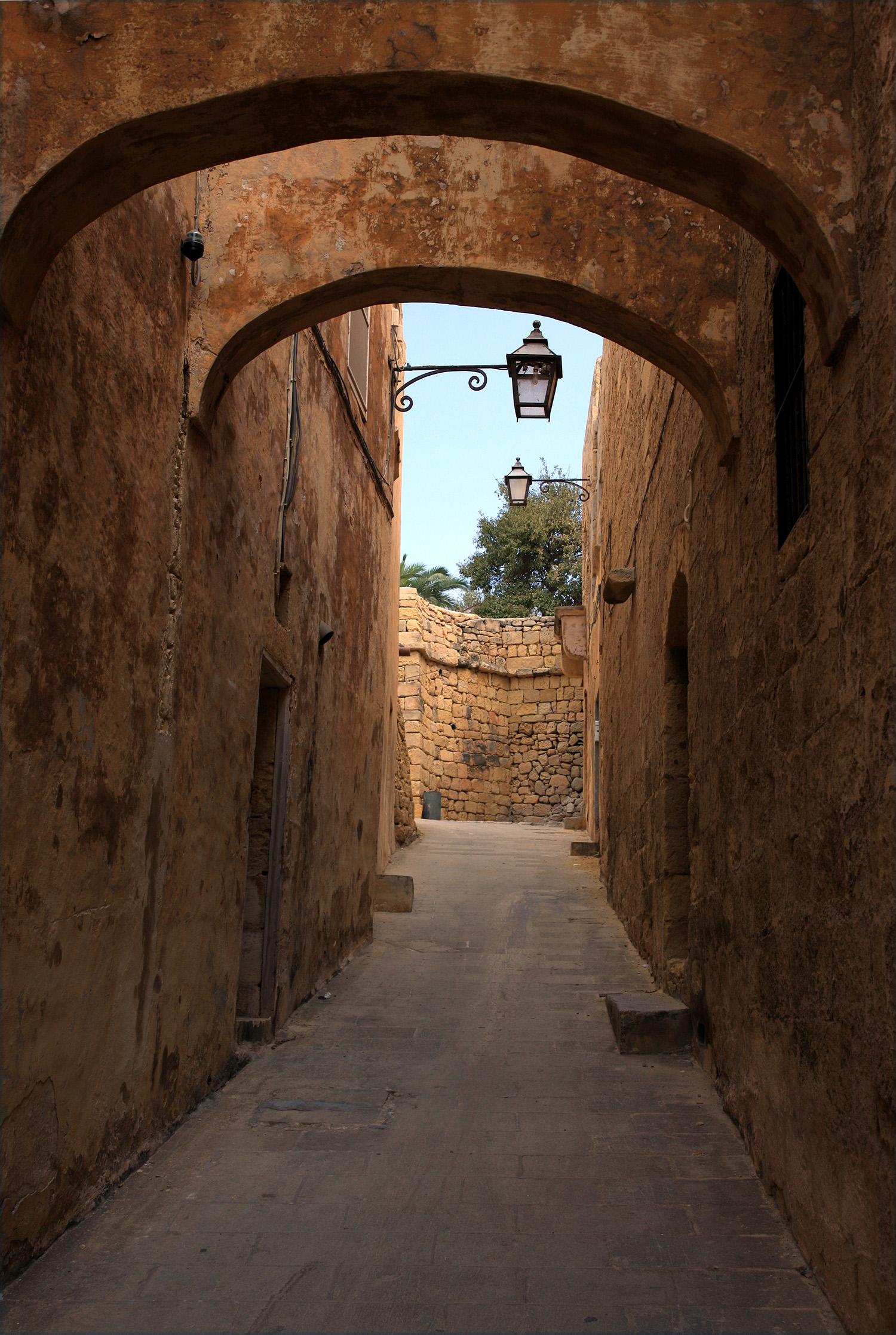Arches in Valletta