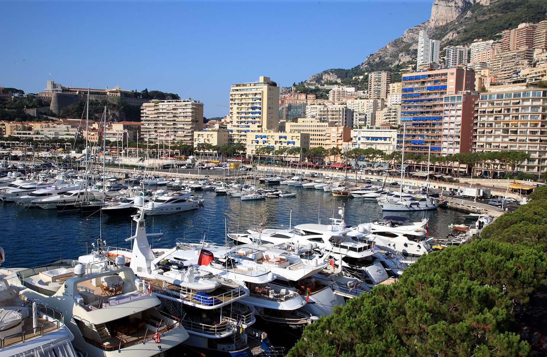 The Harbor in Monte-Carlo