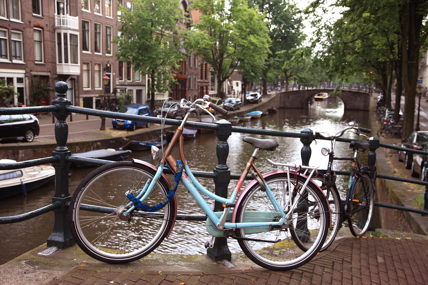 Teal by the Prinsengracht