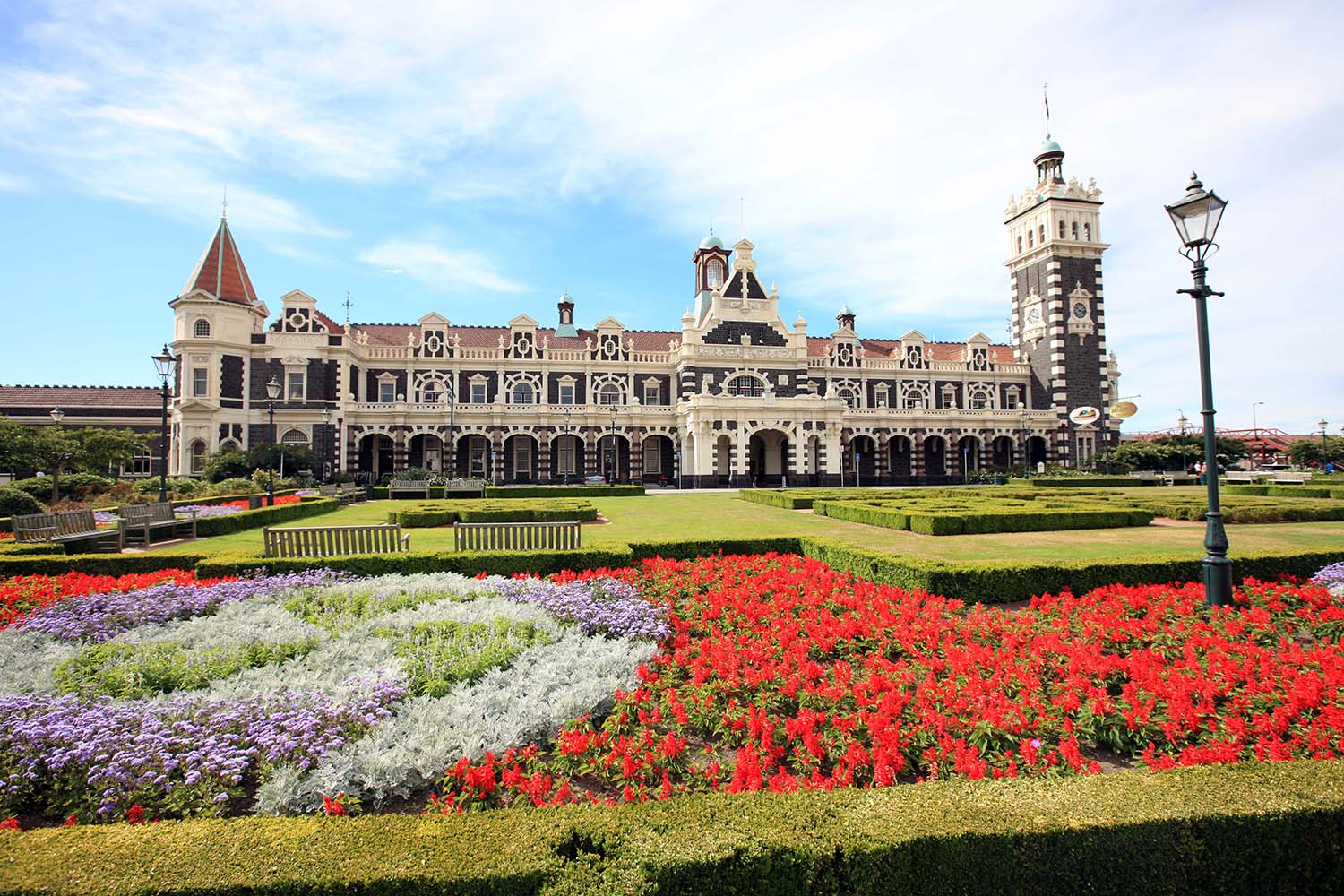 The Dunedin Train Station