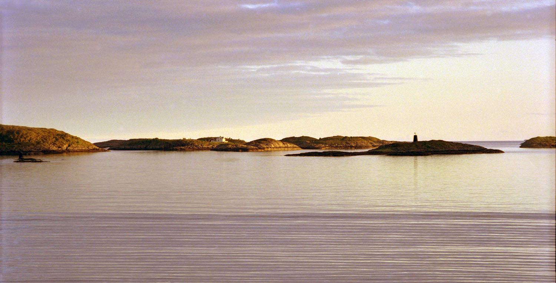 Dawn at the Arctic Circle