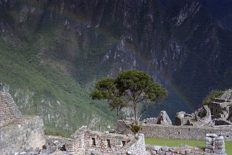 Rainbow over the Sanctuary