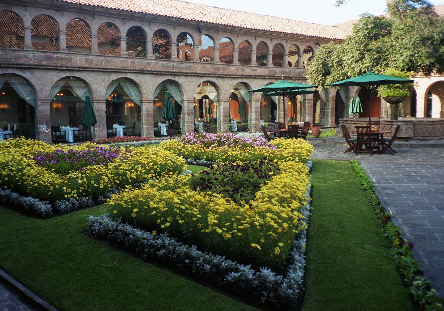 The Courtyard at the Monasterio