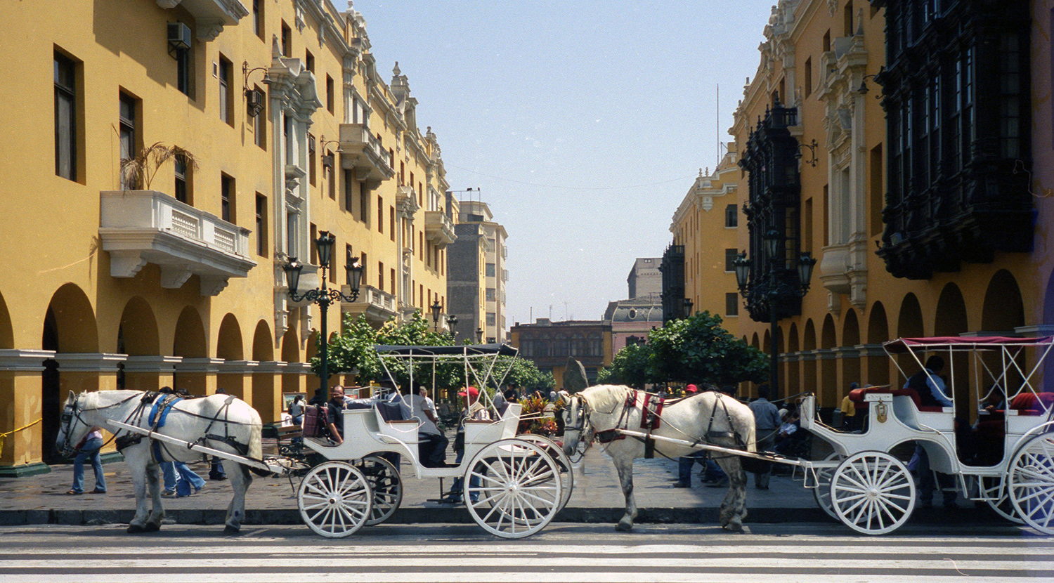 Carriages in Lima