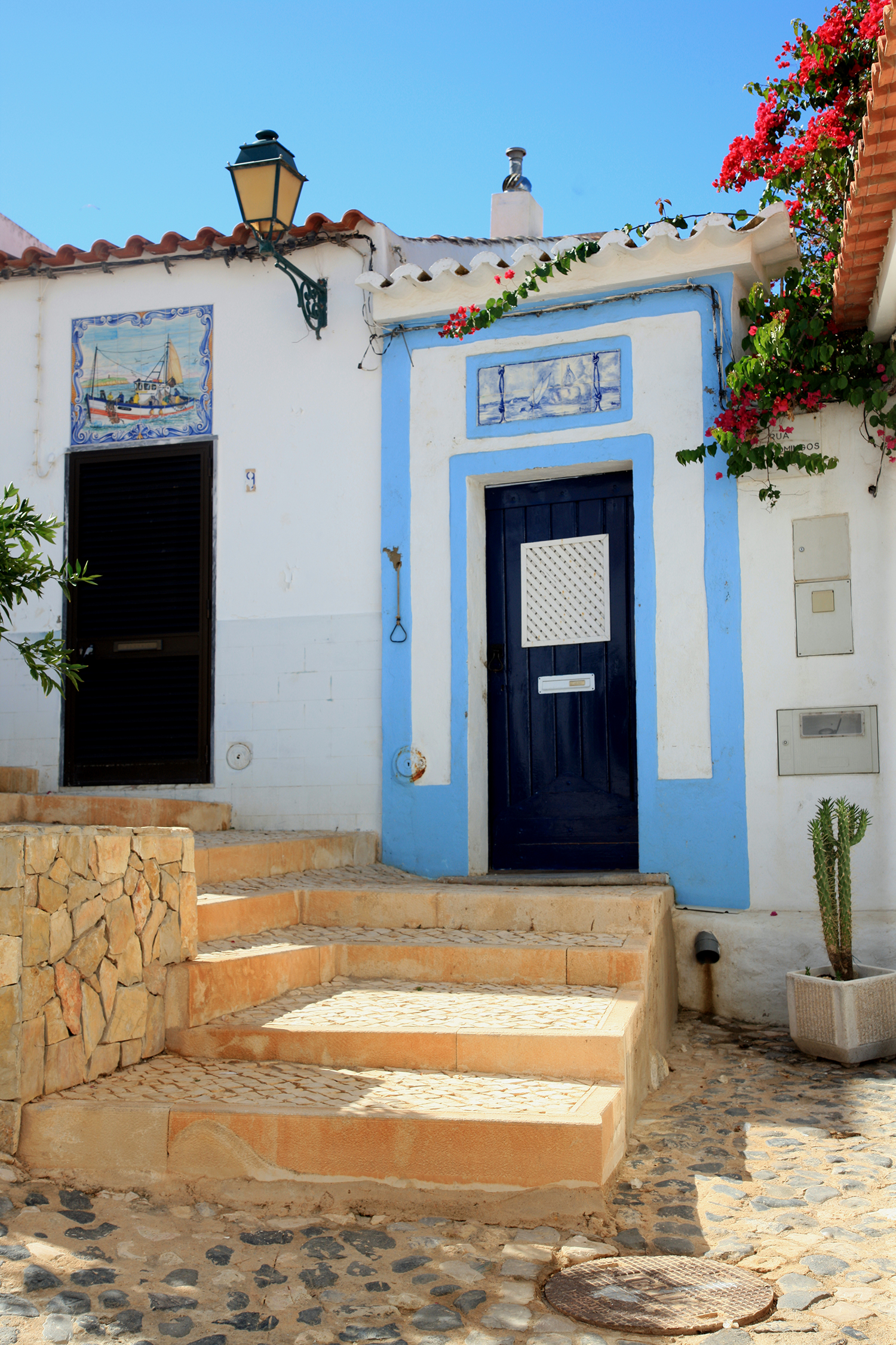 Blue Door in Ferragudo