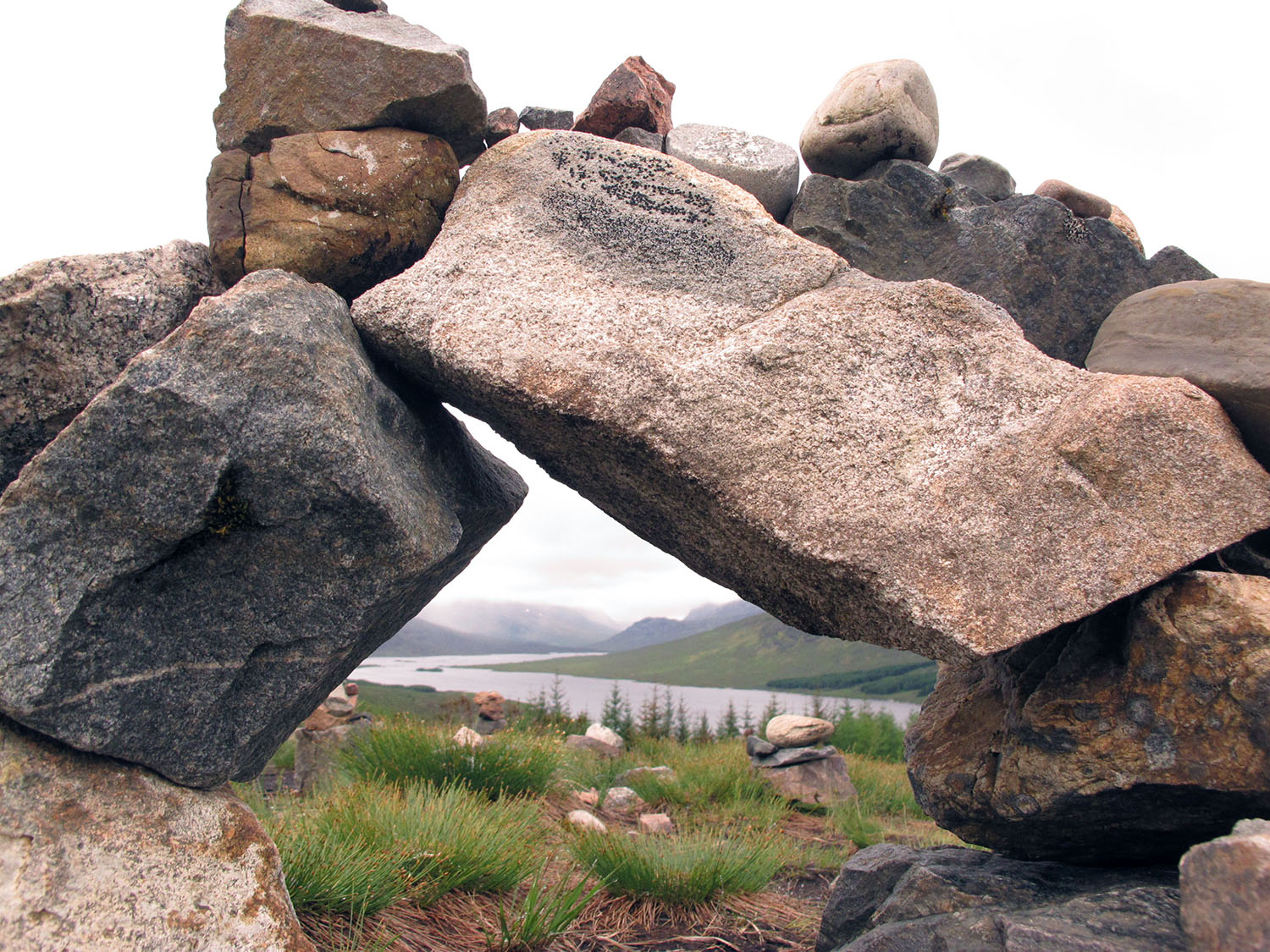 Rocks in the Highlands