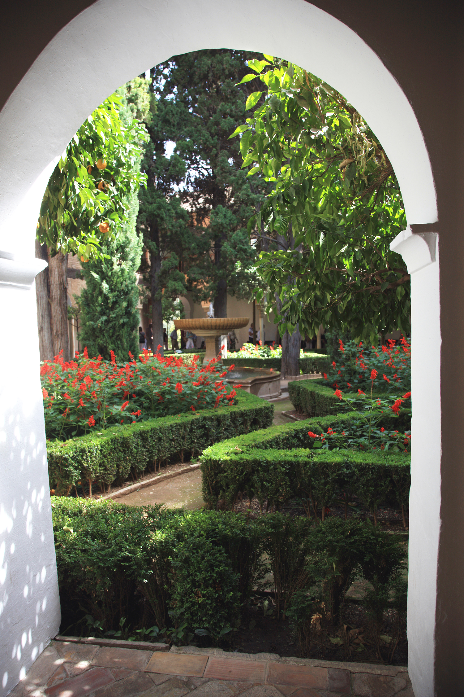 An Alhambra Garden