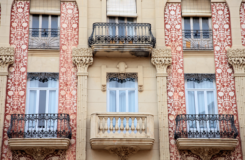 Windows of Valencia