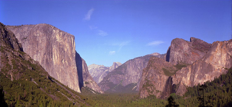 Inspiration Point in Yosemite