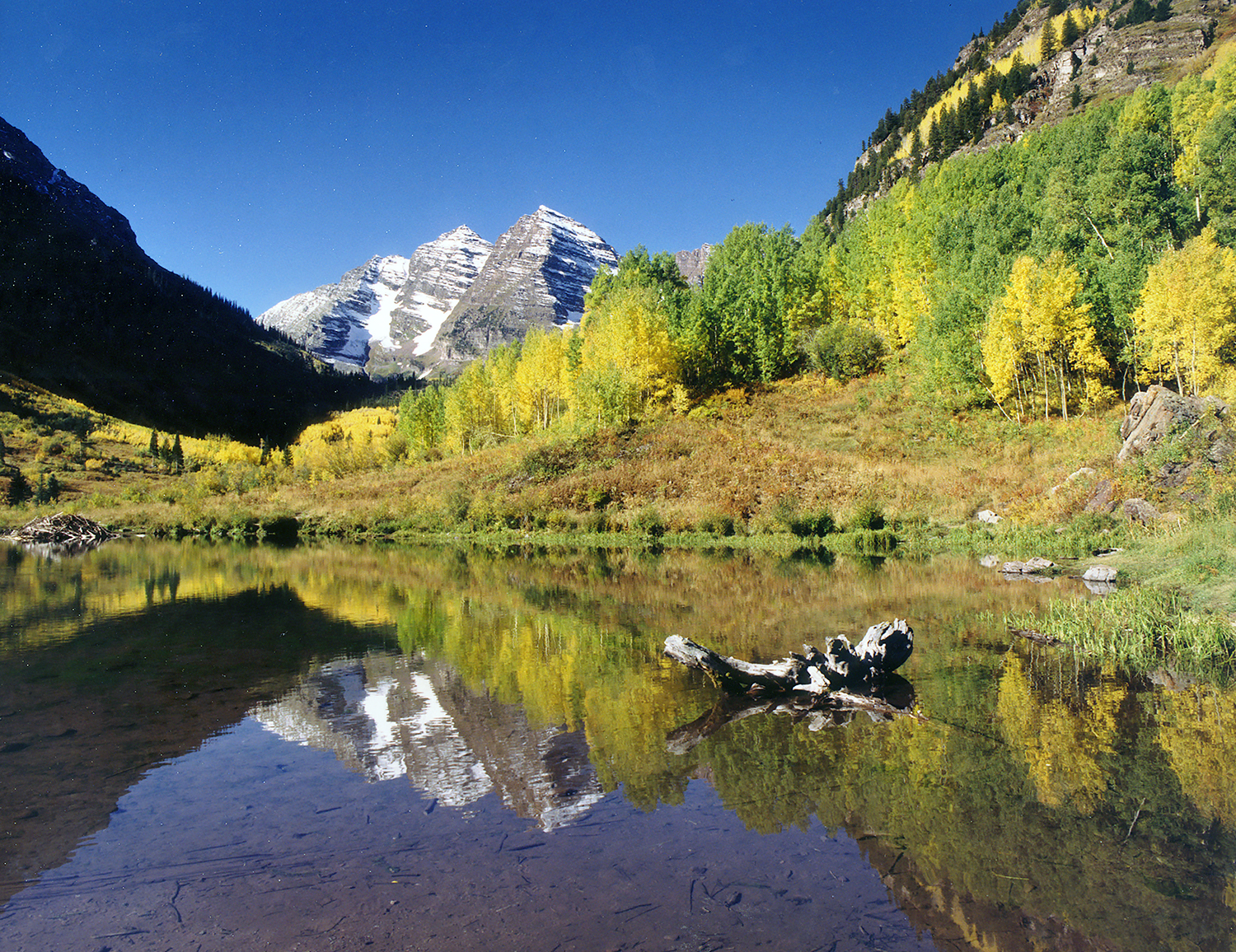 Autumn at the Maroon Bells
