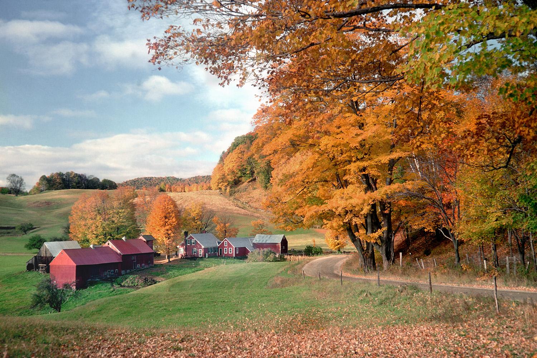 The Jenne Farm in Fall