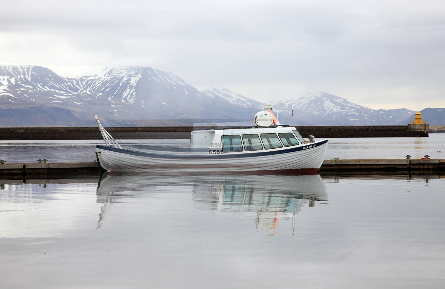Icelandic Fishing Boat