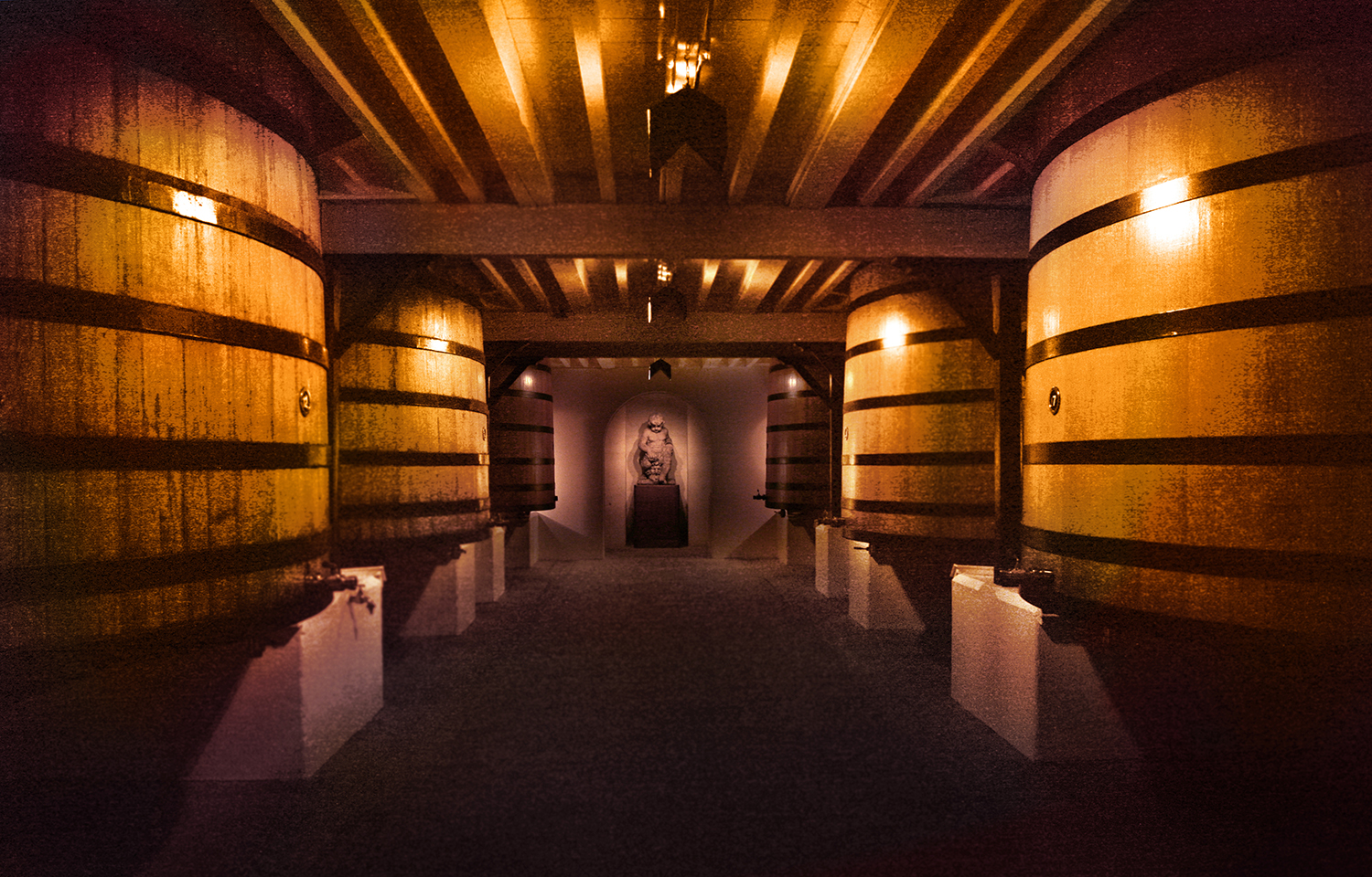 The Barrel Room at Mouton-Rothschild