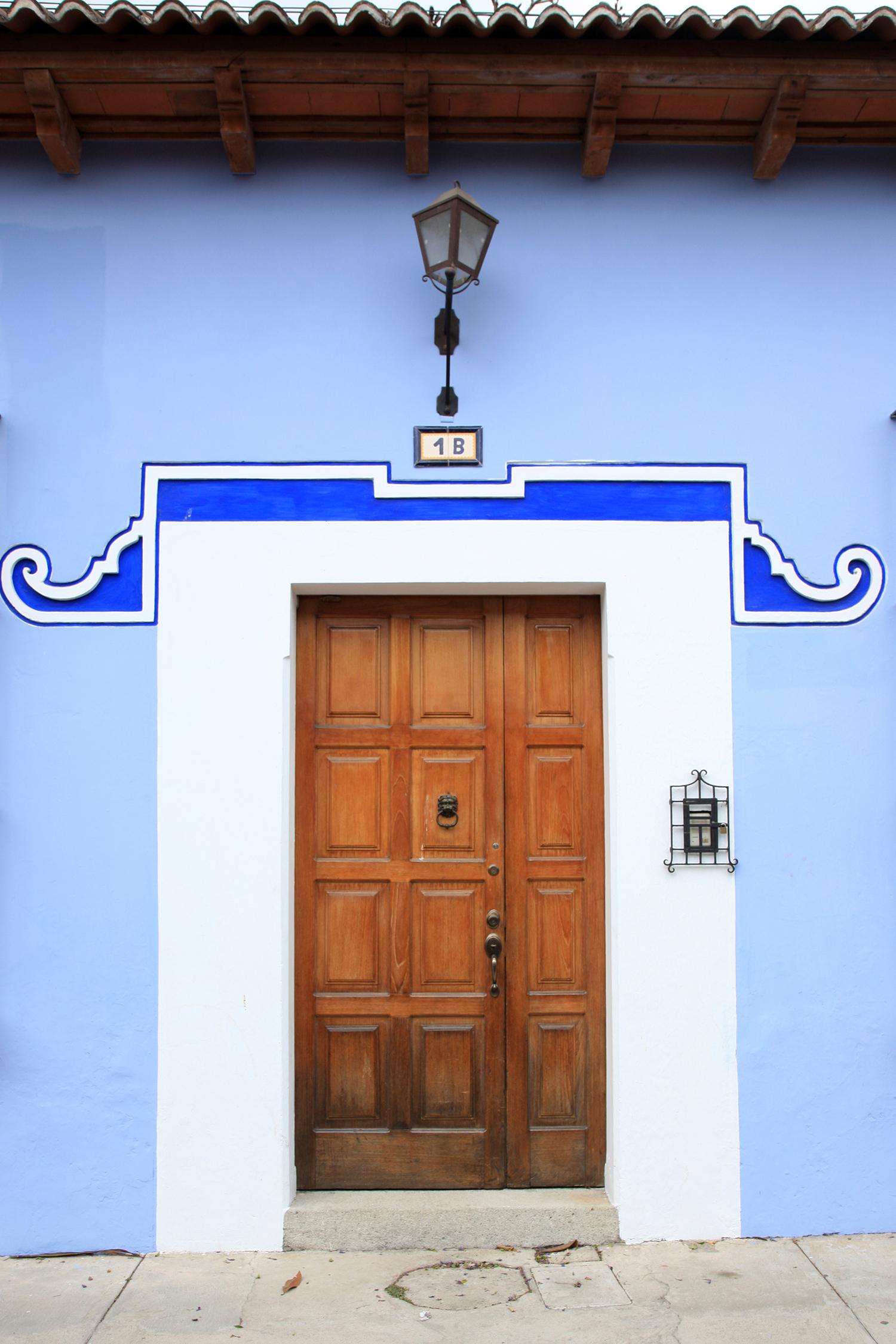 Wooden Door in Antigua