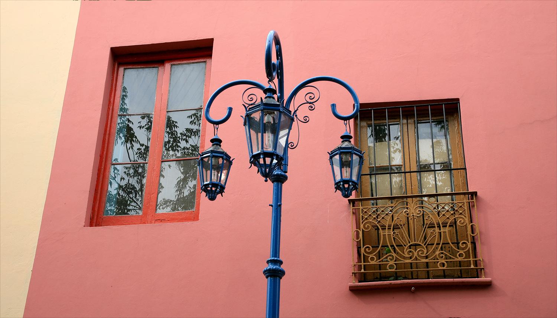 Windows of La Boca