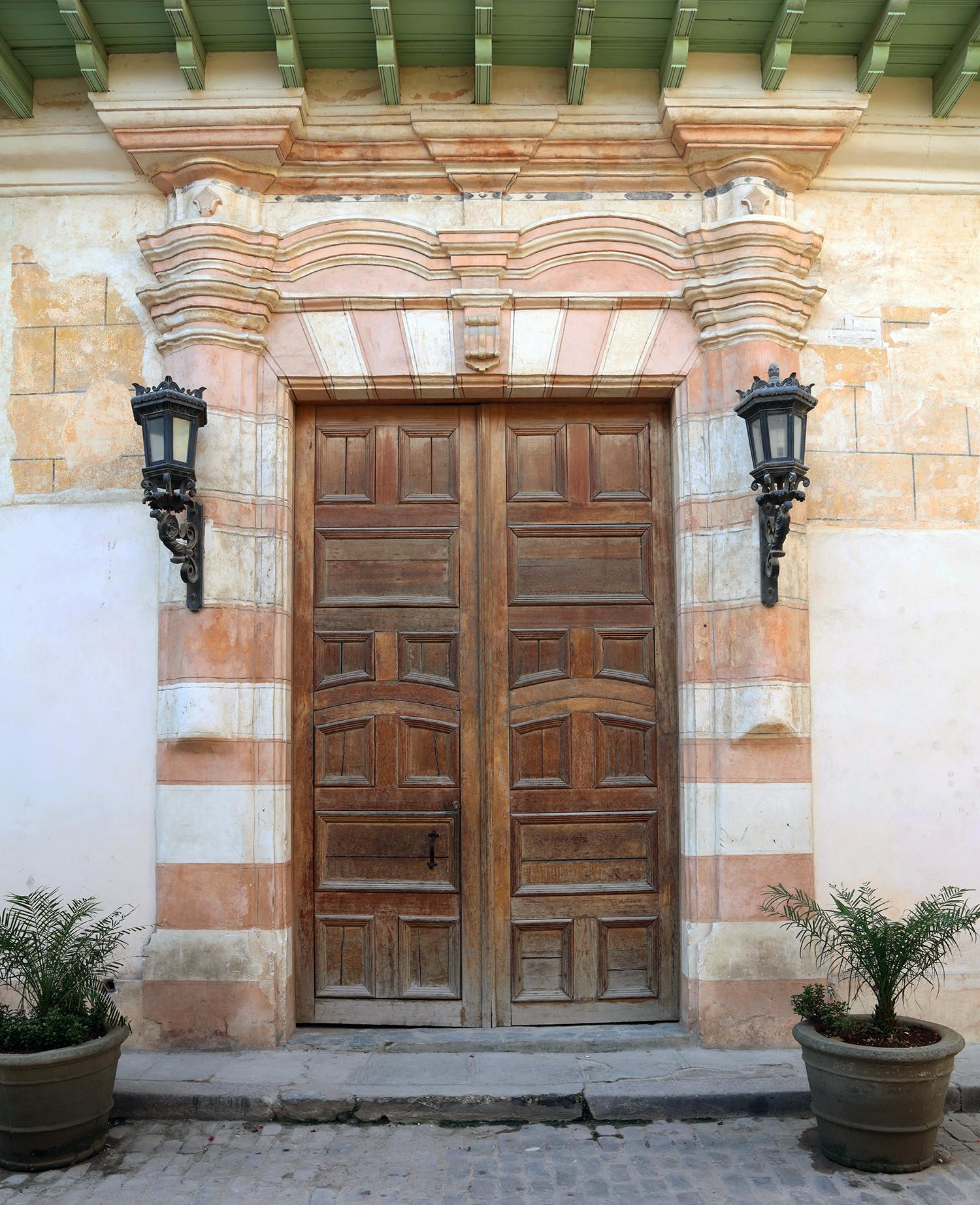 Door in Havana