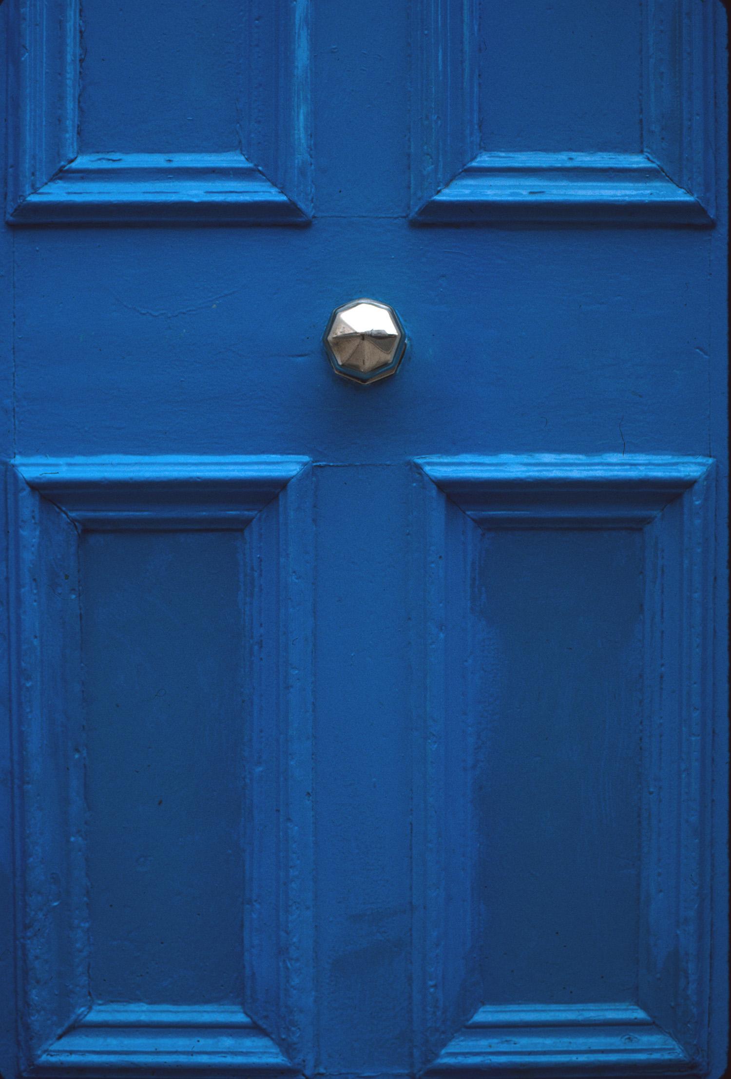 Irish Blue Door