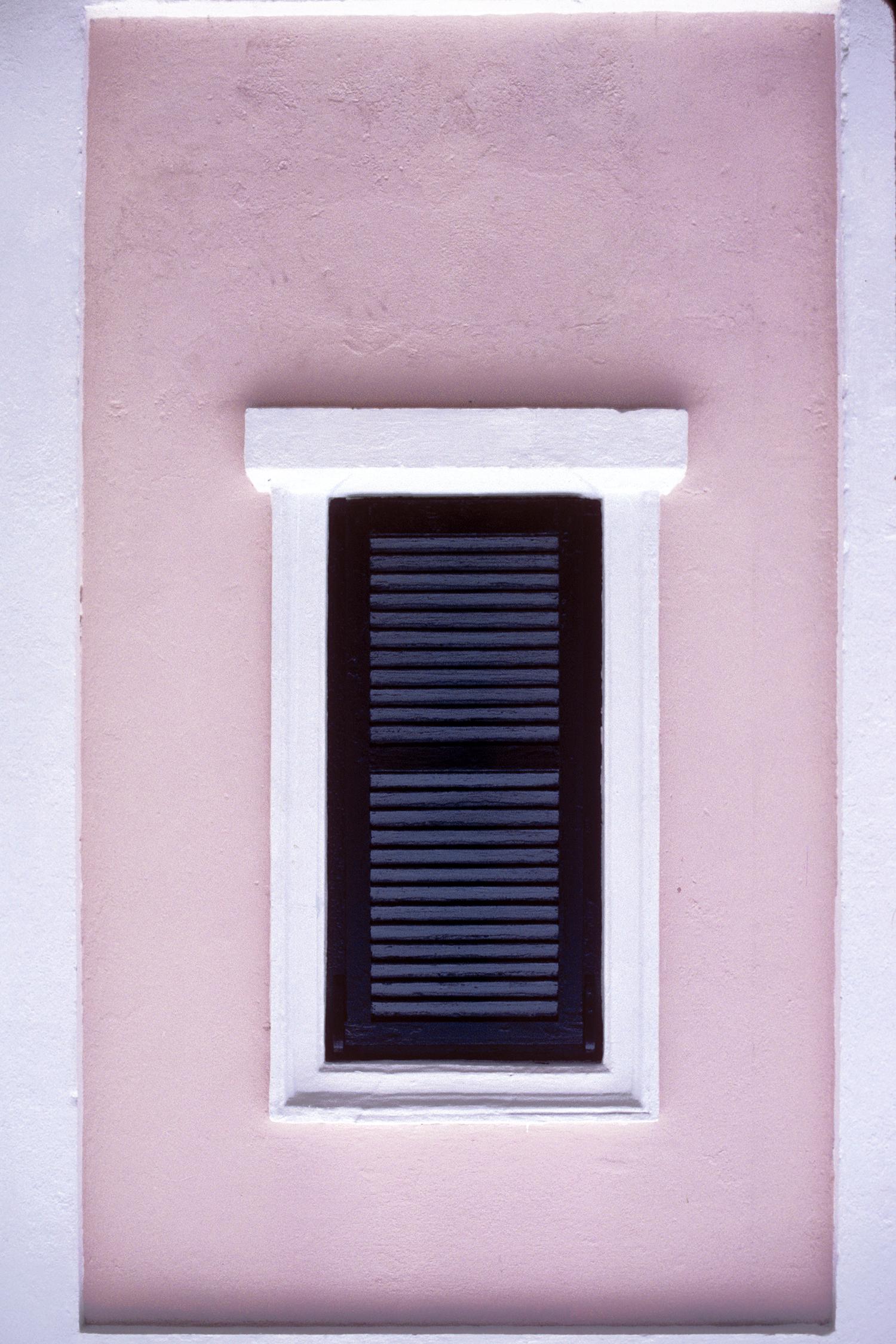 Shuttered Window in Bermuda