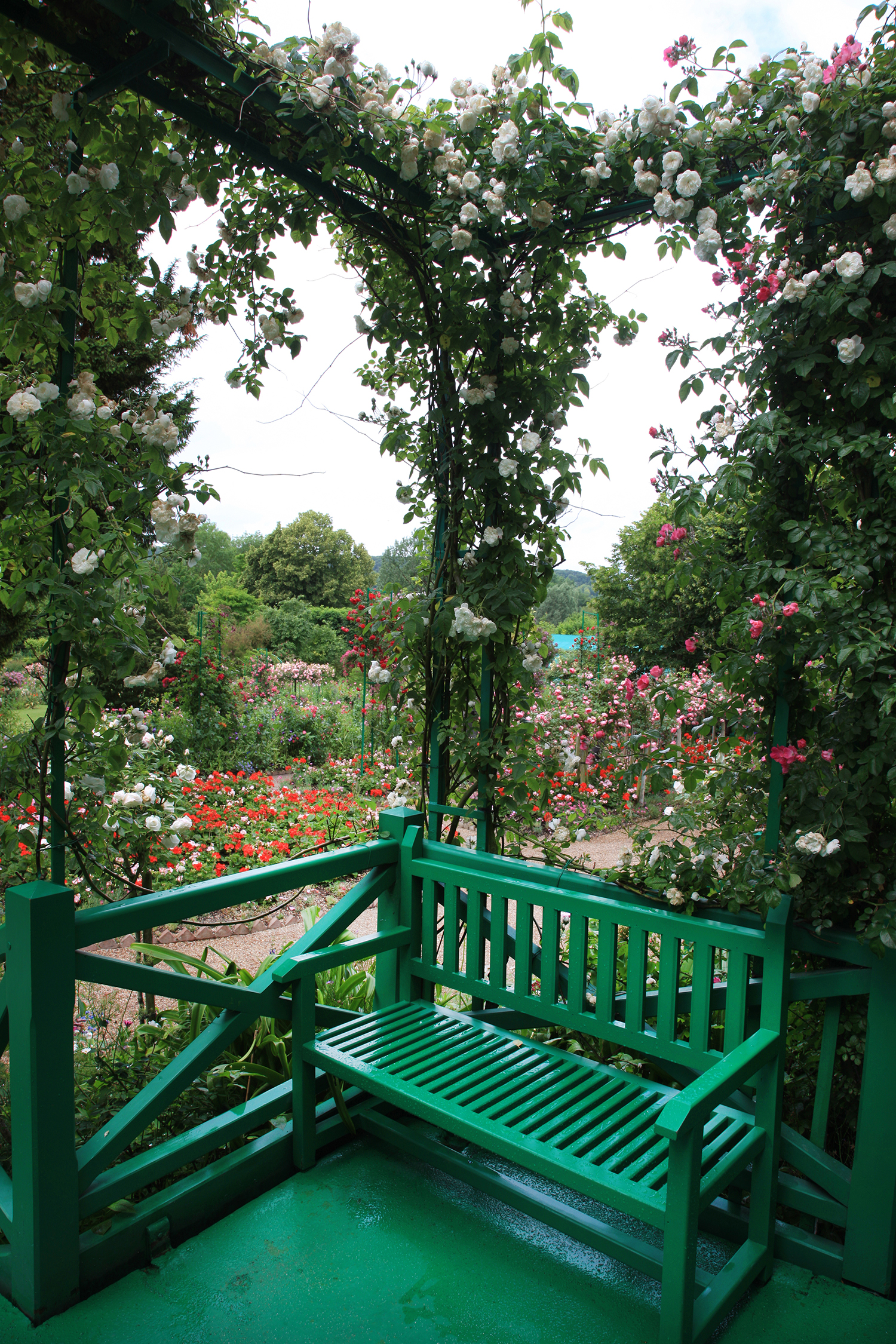 Monet's Bench