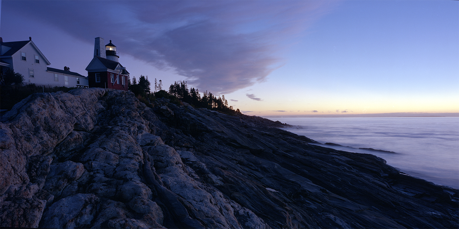 Dawn at Pemaquid