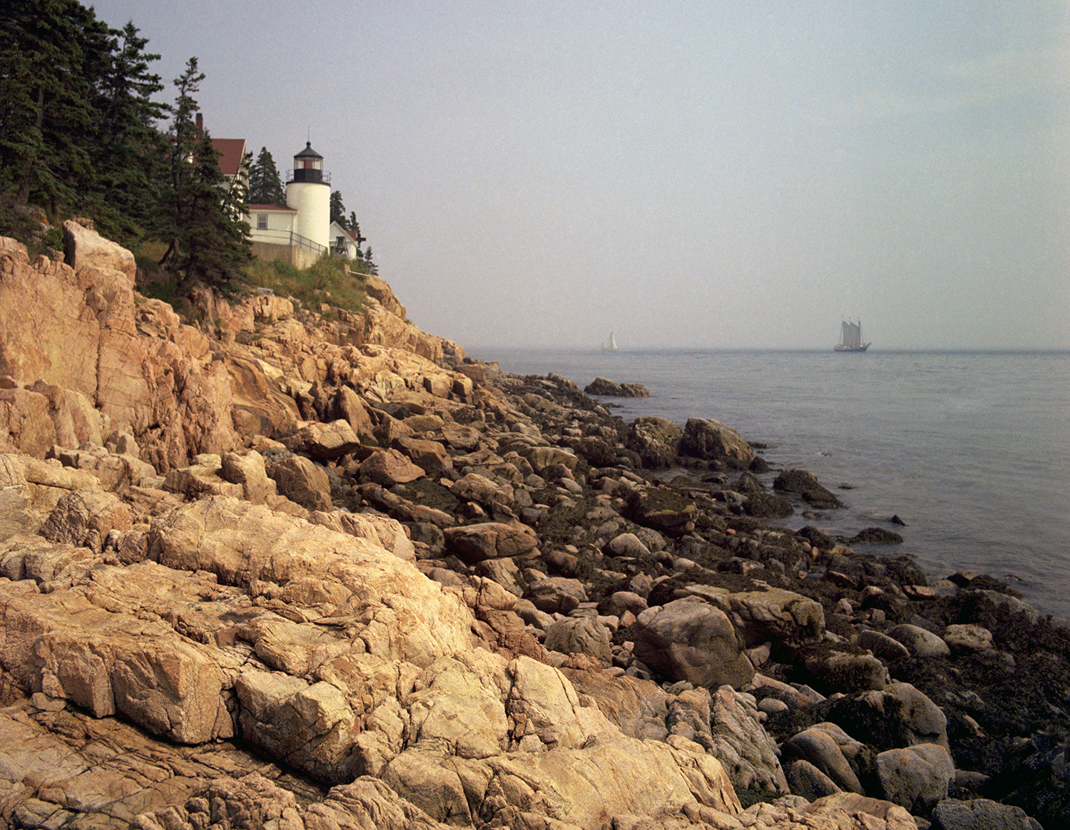 The Bass Harbor Light