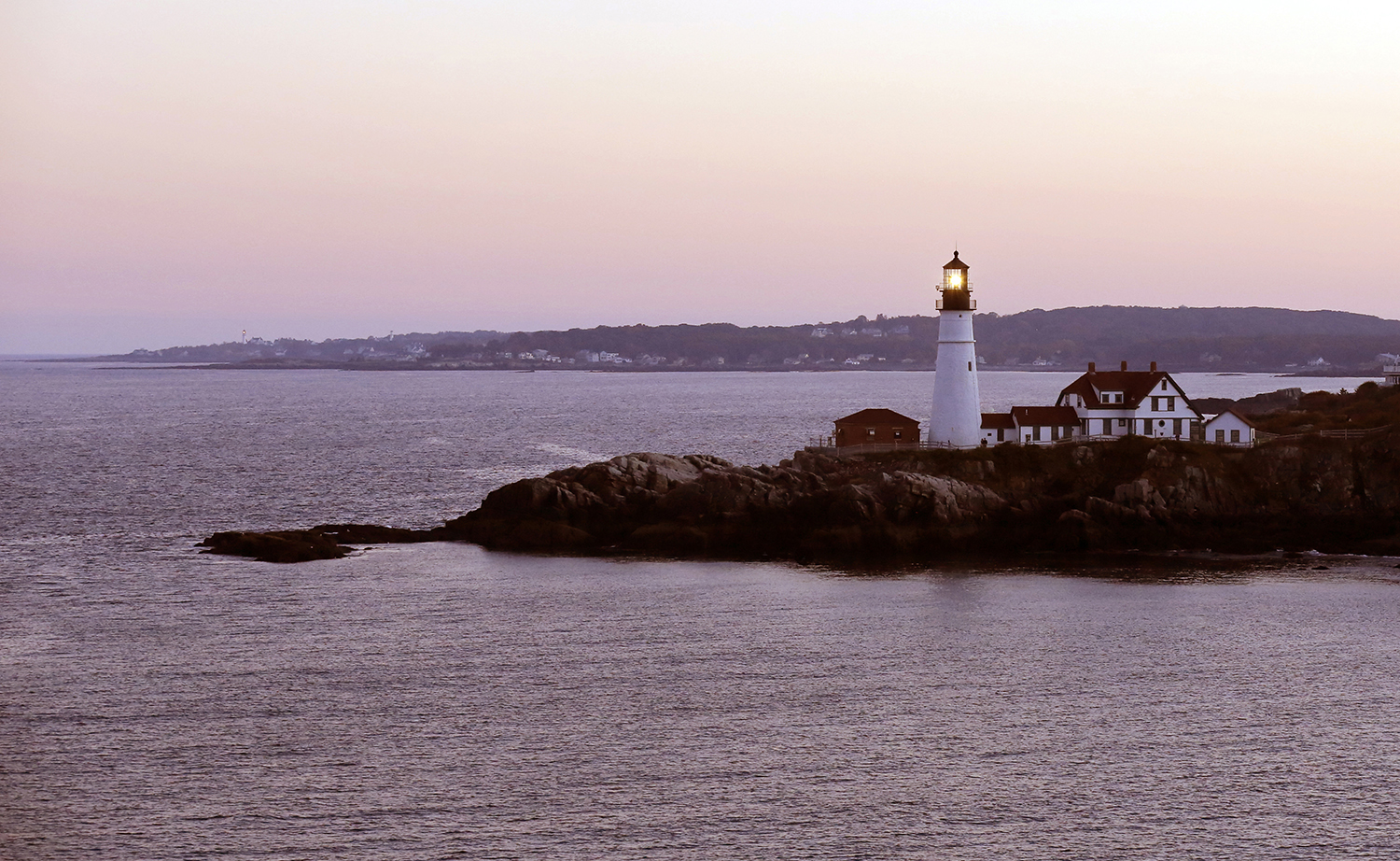 Sunrise at the Portland Head Light