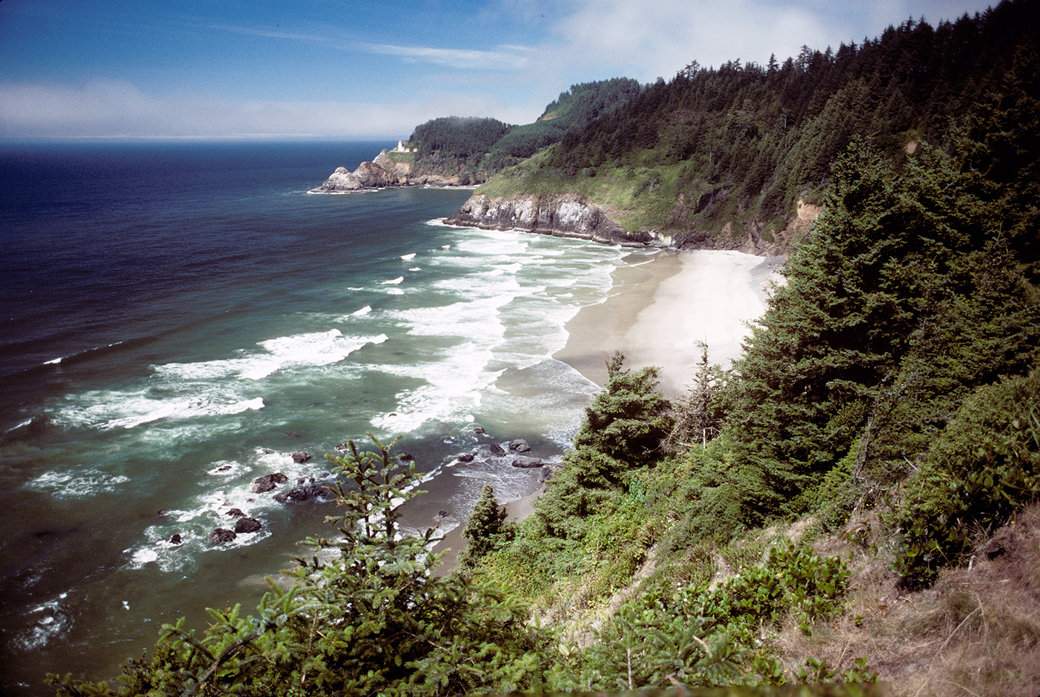 Oregon Coastline at Heceta Head
