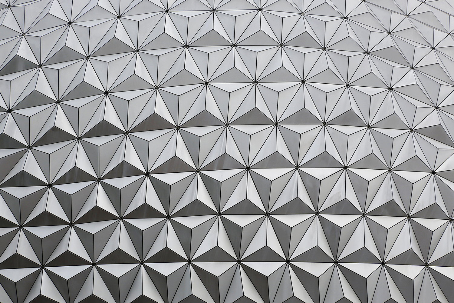 EPCOT in Shades of Gray