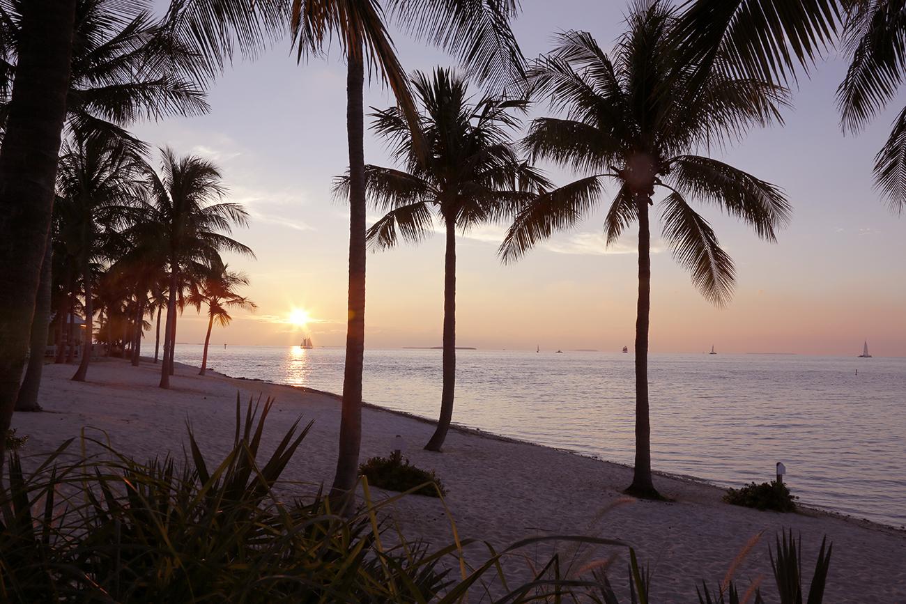 Sailing into the Key West Sunset