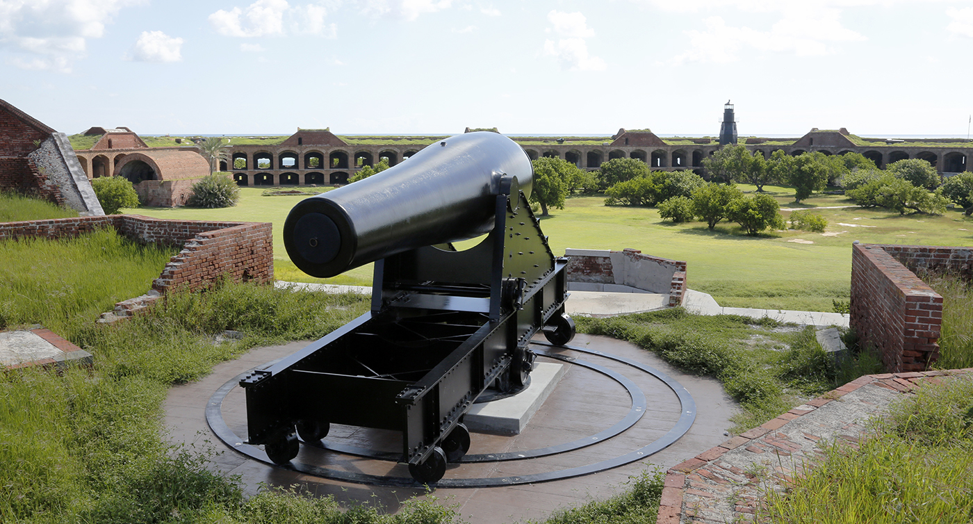 The Guns at Fort Jefferson