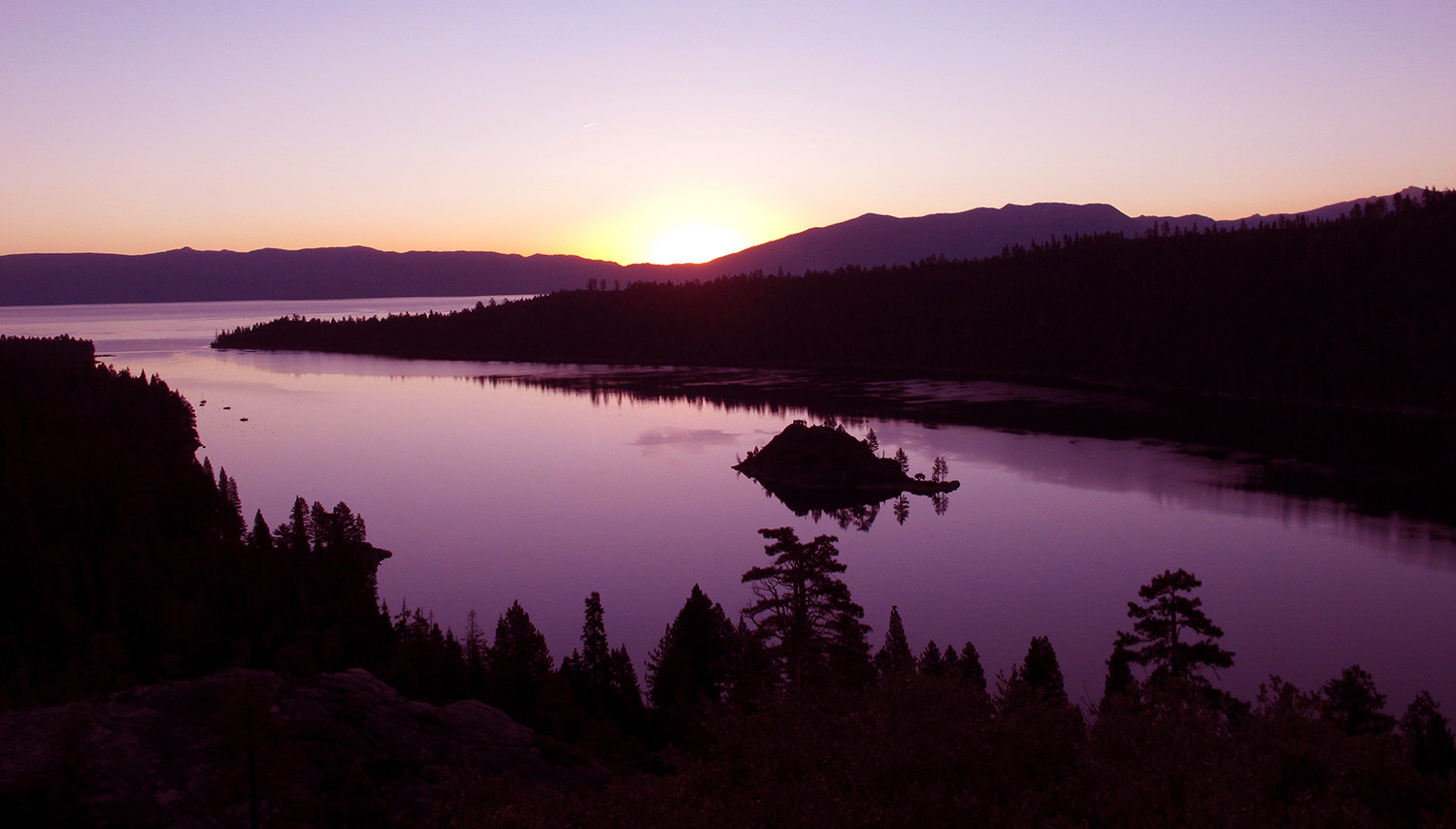 Dawn Greets Emerald Bay