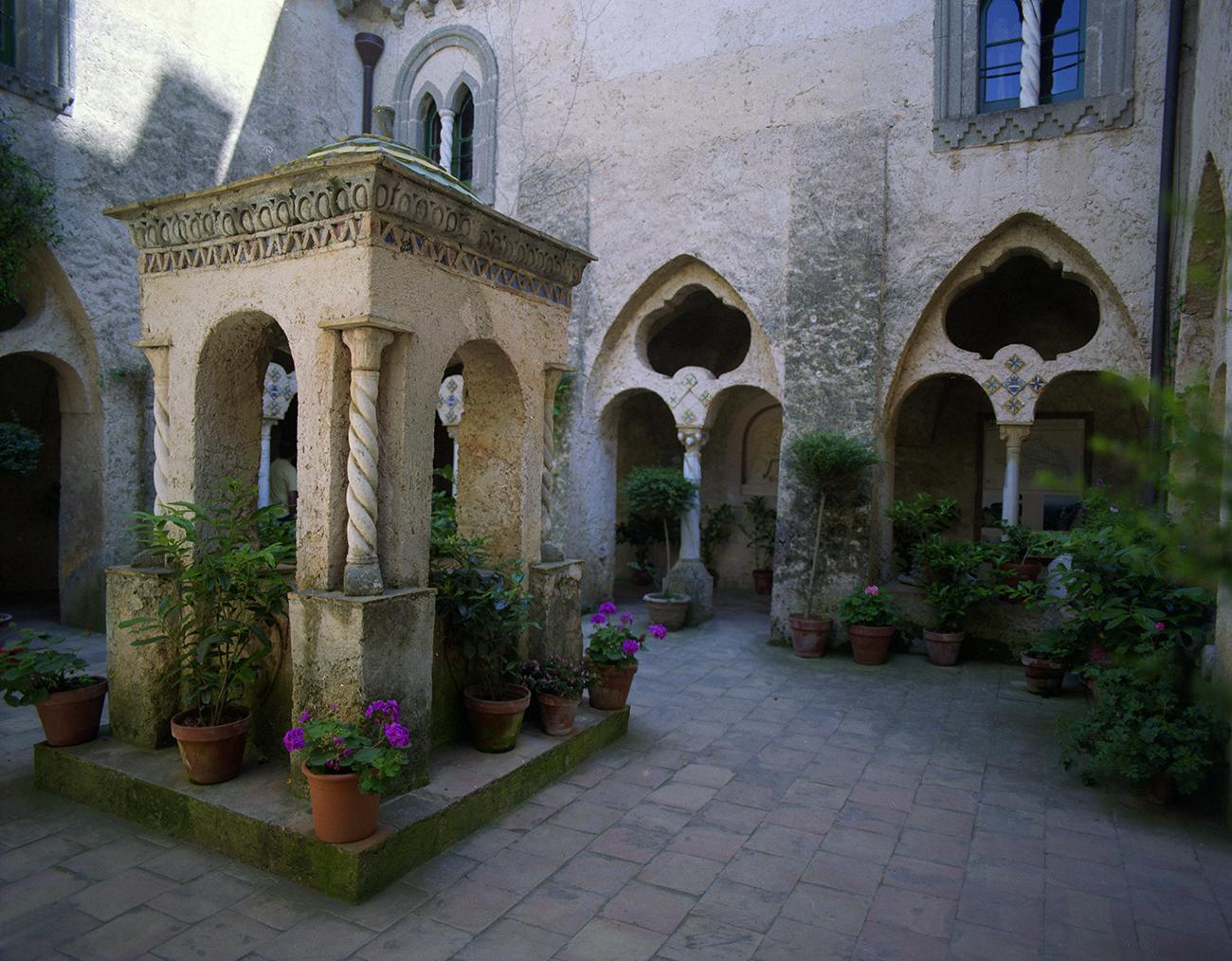 The Courtyard at Villa Cimbrone