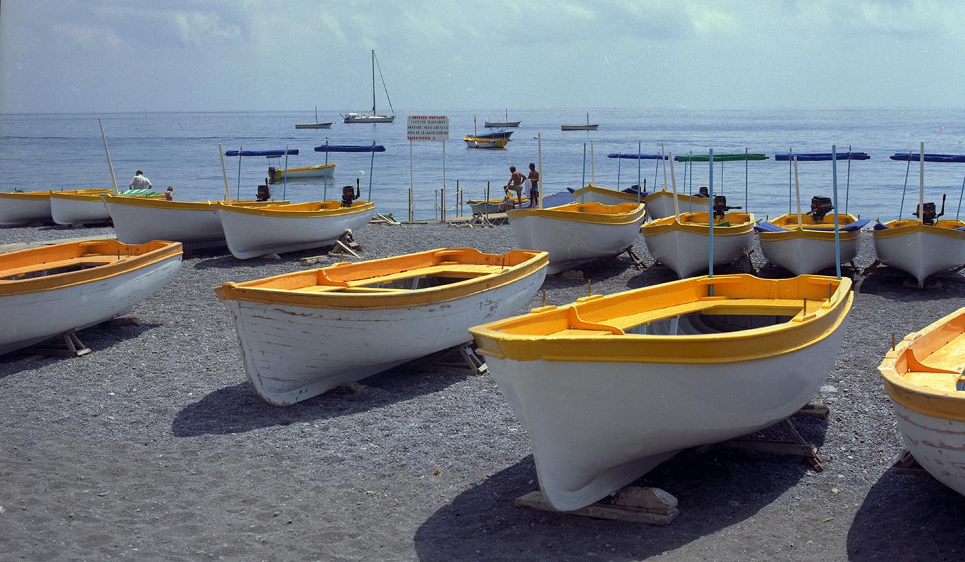 The Boats of Positano